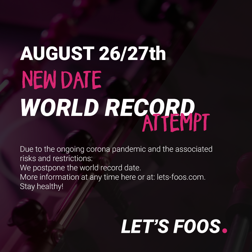 Worldwide Record Attempt 2021 - LET'S FOOS