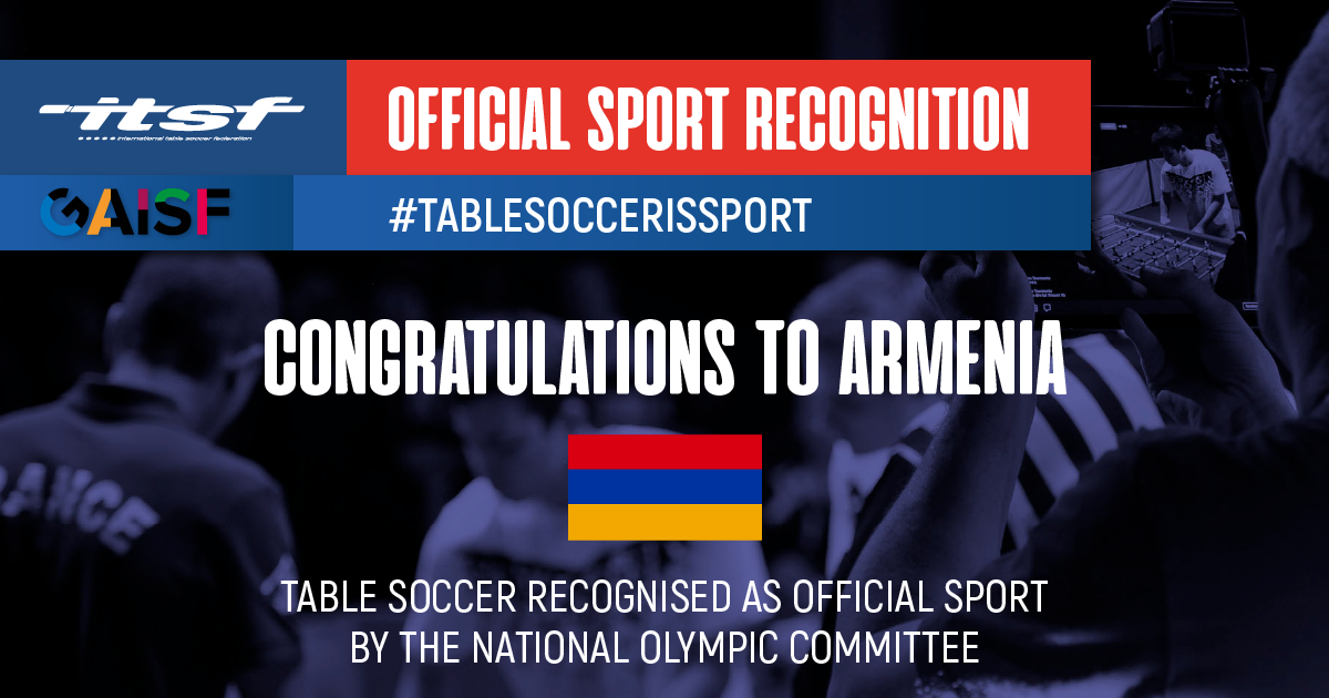 SPORTS RECOGNITION IN ARMENIA