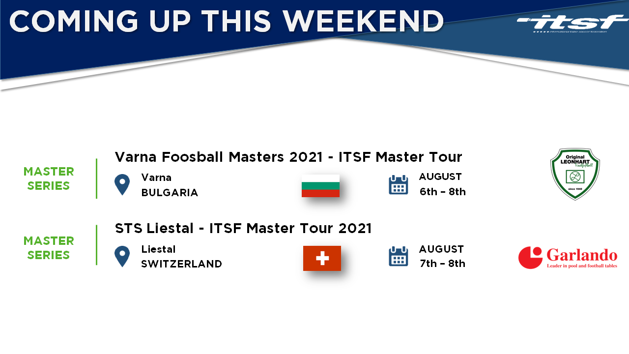 Coming Up this Weekend - 2 Tournaments in Europe