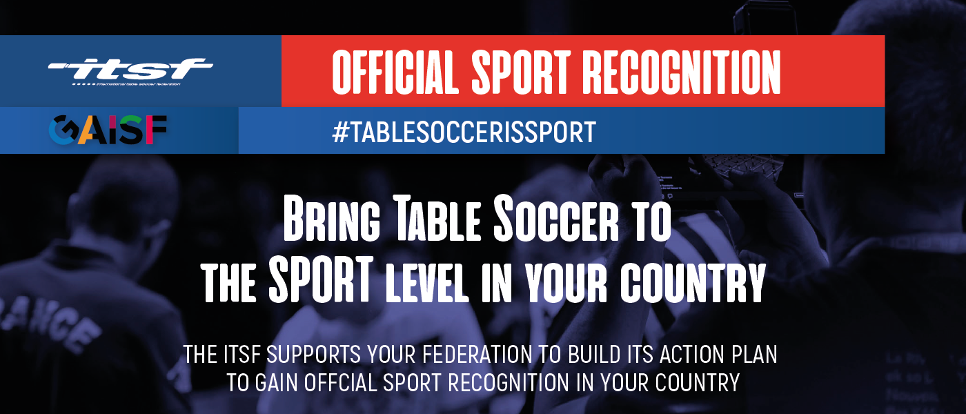 ITSF gives its support to gain official sport recognition