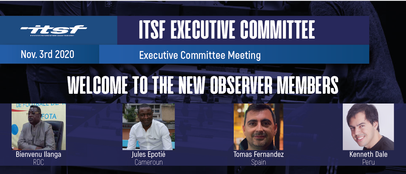 New Executive Committee Observer Members