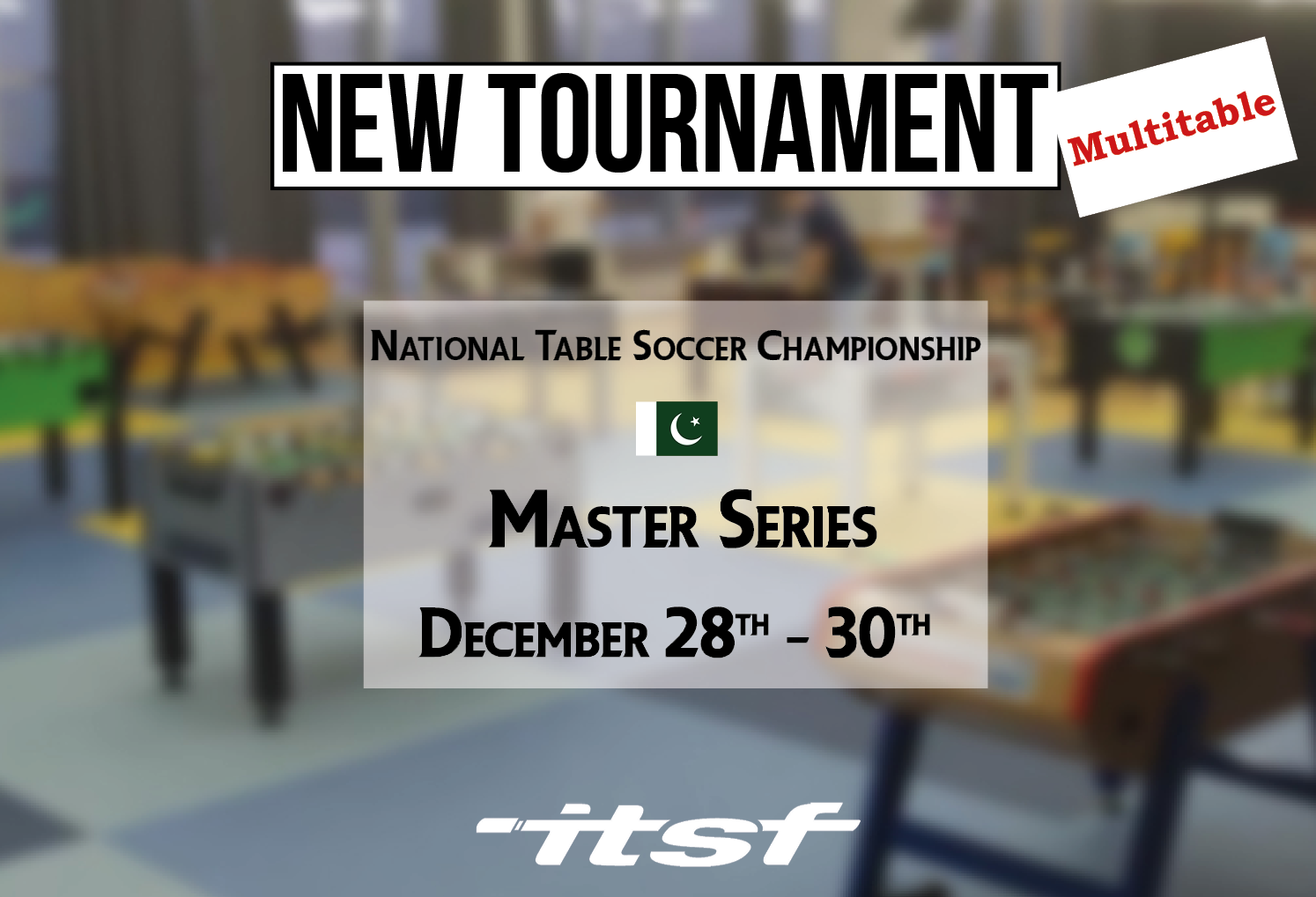 New tournament in Pakistan