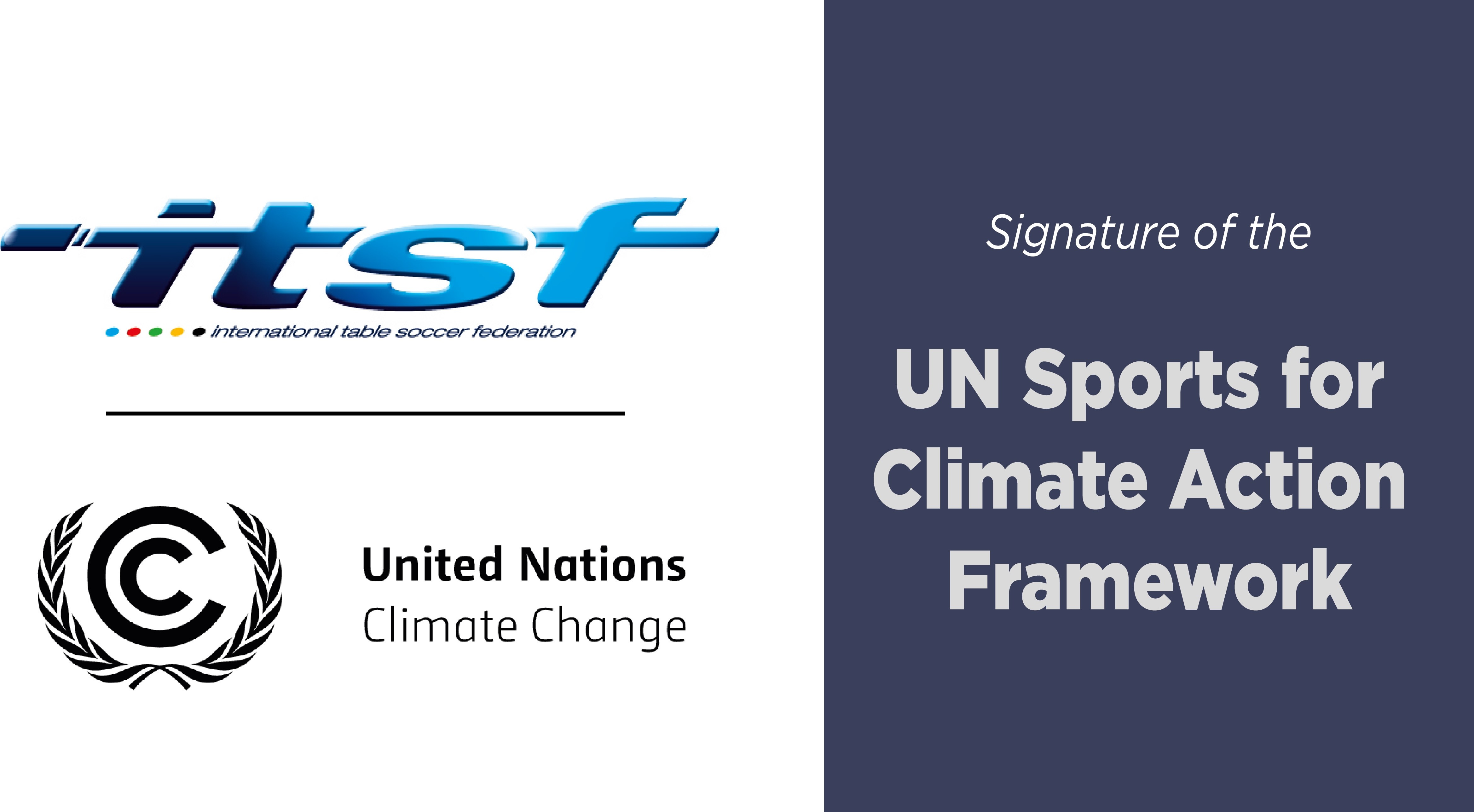 ITSF's commitment to climate change
