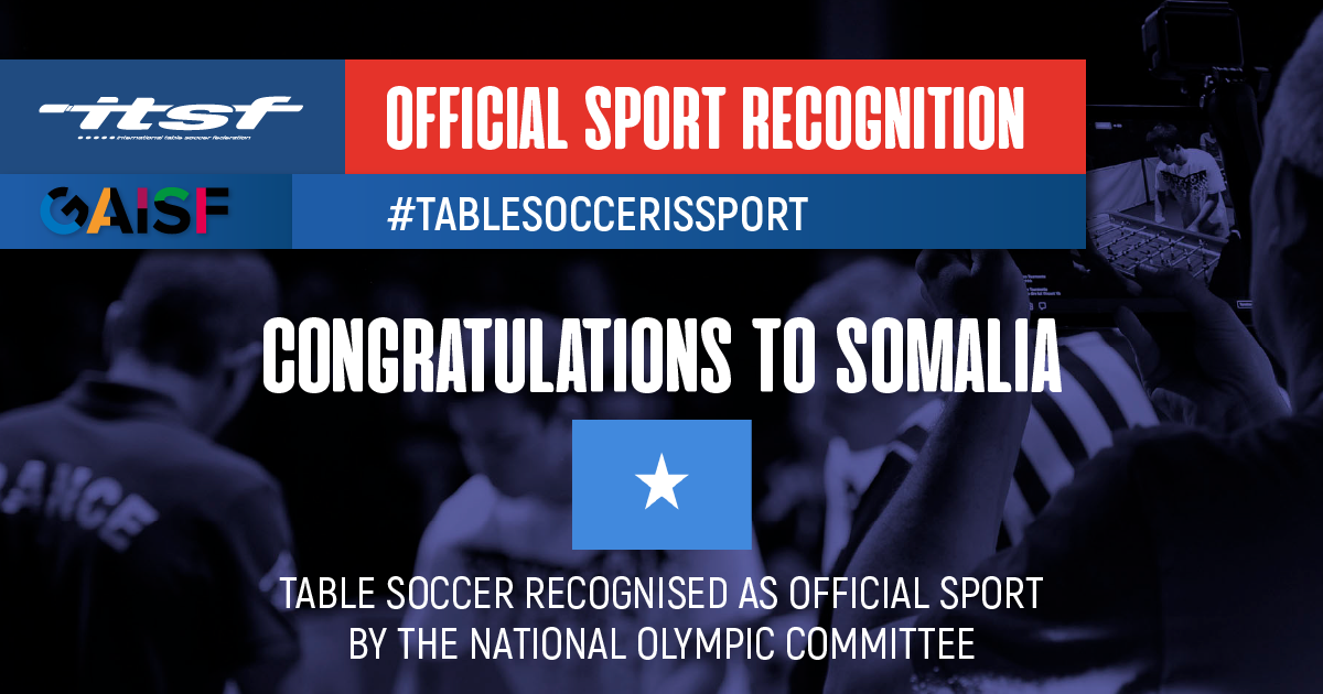 Sports recognition in Somalia
